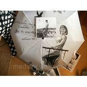 Роспись зонта. Портрет с фотографии. фото