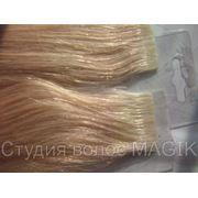 Наращивание волос на лентах фото