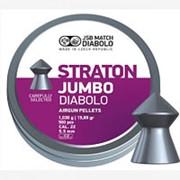 Пули пневматические JSB Straton Jumbo Diabolo 5,52 мм 1,030 грамма (500 шт.) (острые) фото