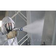 Огнезащитная обработка деревянных и металлических элементов и конструкций. фото