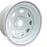 ORW ORW диск стальной НИВА 16х7 5х139,7 d98 ET+25 белый фото