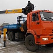 Кран Манипуляторная Установка SOOSAN 736 LII на шасси КАМАЗ 43118 фото