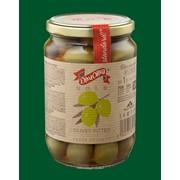 Зеленые оливки, оливки без косточки, Diva Oliva Gold фото