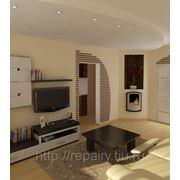Ремонт, отделка однокомнатной квартиры фото