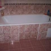 Установка ванн фото