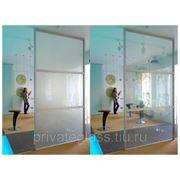 Изготовление стекла с переменной прозрачностью фотография