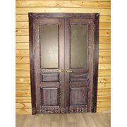 Дверь из дуба D09-10 фото