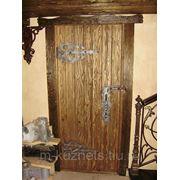 Дверь из сосны D09-14 фото
