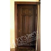 Дверь из дуба D09-02 фото