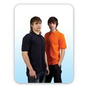 Рубашка-поло с фоторисунком мужская унисекс хлопковая фото