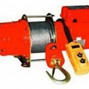Лебедка электрическая KDJ-200E, 30 м., г/п 0,2 фото