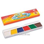 Краски акварельные 6 цвет фото