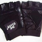 Перчатки вело ОМОН кожа, ткань Cliff CL-228, S фото