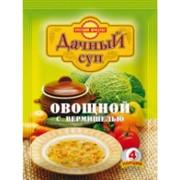 Суп Дачный Овощной с вермишелью 60гр фото