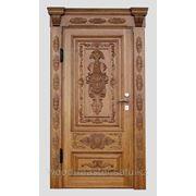 Двери ручной работы из дерева фото