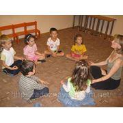 Домашний детский сад «РадоЗнай» — Занятие йогой фото