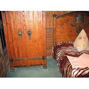 Славянский стиль шкаф и кровать фото