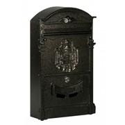 Ящик почтовый 31092 коричневый фото