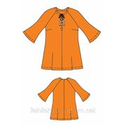 Выкройка блузы женской, модель Реглан фото