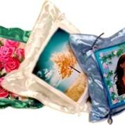 Подарочная подушка с фото. фото