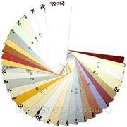 Визитка на дизайнерской бумаге, полноцветная печать, двухсторонняя фото
