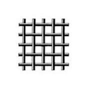 Сетка тканая из нержавеющей проволоки 12Х18Н10Т (с квадратными ячейками) фото