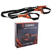 Петли для подвесного тренинга Torres многофункциональный арт.AL1039 фото