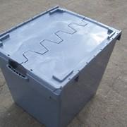Ящик полимерный с крышками фото