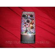 Телефон Sony Ericsson с кристаллами сваровски. фото