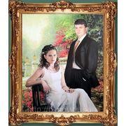 Портрет маслом по фотографии фото