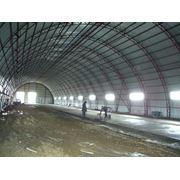Проектирование ангаров из легких металлоконструкций Ангары из металлоконструкций быстровозводимые под склады СТО стоянки. фото