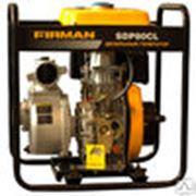Мотопомпа для загрязненной воды Firman SDP80Т (78 м3/ч 80 мм) в Астане фото