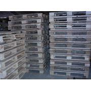 Поддон деревянный размер 1200*800 мм. 1200*1000 мм. новые и б\у фото