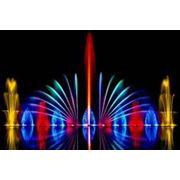 Лазерное шоу в астане фото