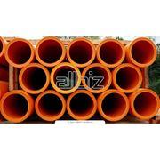 Трубы полиэтиленовые газовые фото