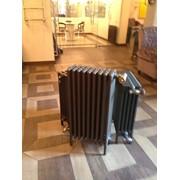 Монтаж и обвязка чугунного радиатора фото