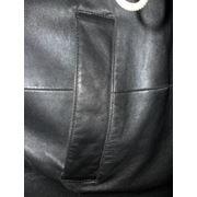 Замена подкладки в кожаном пальто в брюках в юбке недорого в ателье Горностай. Киев фото