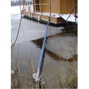 Дом на воде установка -Плавучий дом фото