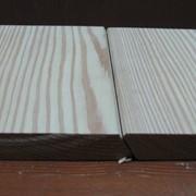 Планкен скошенный из лиственницы 20х140 Экстра фото