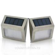 Солнечные лампы - 2 светодиода, водонепроницаемые, аккумуляторная батарея фото
