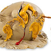 "Фрагмент картины ""Геополитический ребенок..."" Сальвадора Дали (Museum.Parastone) арт.pr-SD10 фото"