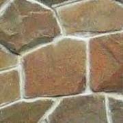 Камень плоский природный, песчаник фото