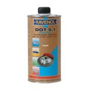Тормозная жидкость Bremsfflussigkeit DOT3 syntetic, 500 мл фото