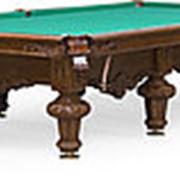Бильярдный стол для русского бильярда Rococo 12ф (орех) фото