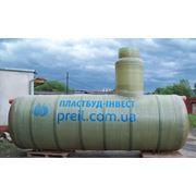 Резервуары для воды стеклопластиковые до 160м3 фото