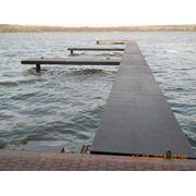 Причалы яхтенные -строительство причалов под стоянку яхт и катеров фото