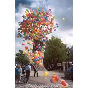 Запуск воздушных шаров на праздник воздушные шары с гелием - запуск Киев. фото