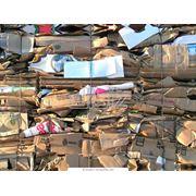 Переработка макулатуры. Утилизация отходов мусора. Сбор и переработка бытовых отходов. фото