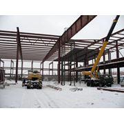 Проектирование складов Монтаж быстро возводимых конструкций. Ангаров фото