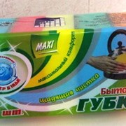 "Губка д/посуды ""Мистер Бульк"" MAXI, 5шт в уп. (р-р фото"